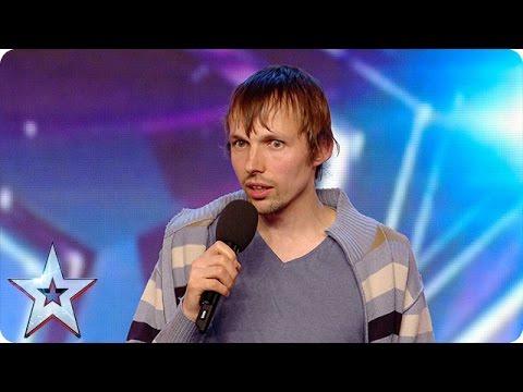Gatis Kandis is back to make Simon laugh… again!   Britain's Got More Talent 2016