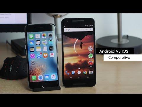 Android vs IOS   ¿Cuál es mejor?