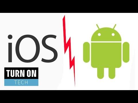 iOS oder Android – Welches ist denn nun das beste mobile OS? – TURN ON Tech Spezial