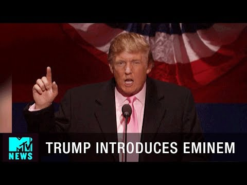 Donald Trump Says He Would Vote for Eminem at the Shady National Convention | MTV News