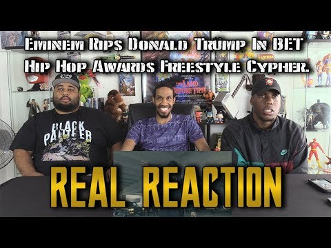 Eminem Rips Donald Trump In BET Hip Hop Awards Freestyle Cypher…Real Reaction