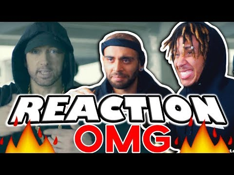 🔥😱 REACTION! 😱🔥 Eminem Rips Donald Trump In BET Hip Hop Awards Freestyle Cypher